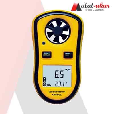 Alat Pengukur Kecepatan Udara dan Suhu Udara AMF001