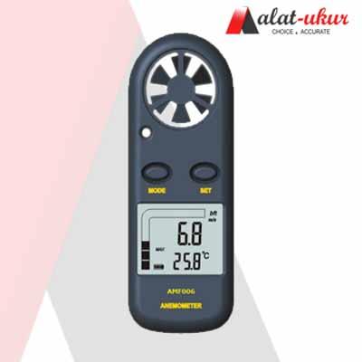 Pengukur Kecepatan Udara dan Suhu Udara AMF006