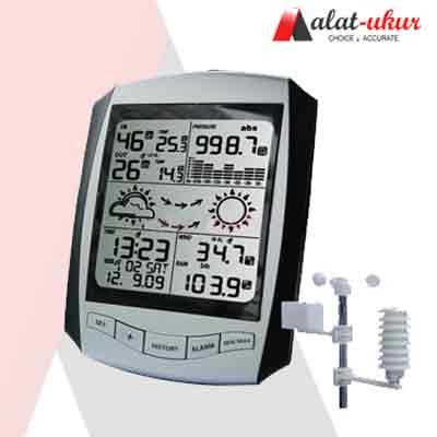 Alat Pengukur Stasiun Cuaca Wireless Professional AW001