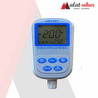 Alat Ukur pH / ORP / Conductivity / TDS / Temp meter 7 IN 1 Profesional PC900