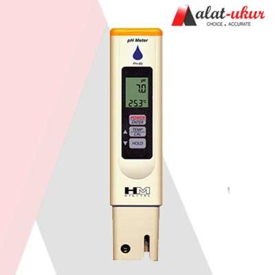 Alat Pengukur PH / Temp meter PH-80