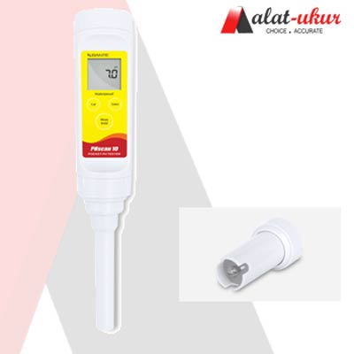 Alat Pengukur Waterproof Pocket pH Tester PH10S
