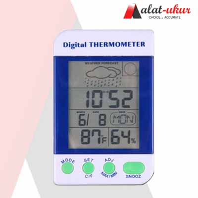 Pengukur Cuaca Station Thermometer Digital AMT-110