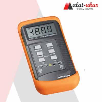 Alat Ukur Digital Thermometer (DUA K-TYPE) DM6802B