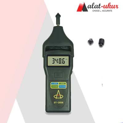 Alat Uji Kecepatan Putaran Foto / Kontak Tachometer DT-2856