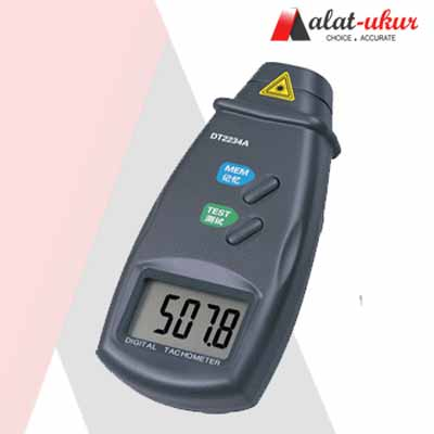 Alat Ukur Photo Type Tachometer DT2234A