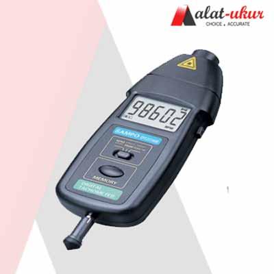 Alat Pengukur foto dan Kontak Tachometer DT2236B