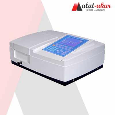 Pengukur UV Spektrofotometer LCD besar Scanning dengan software AMV05PC