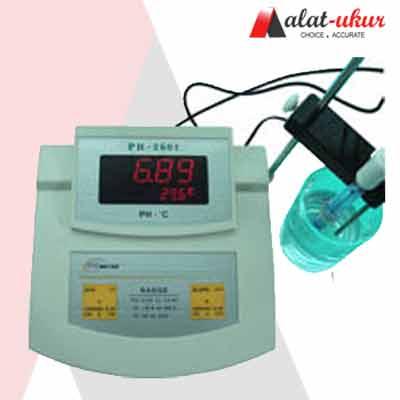 Alat Bench pH dan Temp Meter KL-2601