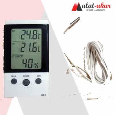 Termometer Digital Lcd Suhu Kelembaban Hygrometer Meteran Pengukur - Page 2 - Daftar Update Harga Terbaru