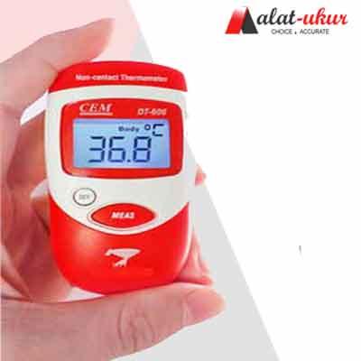 Alat Pengukur Mini Tubuh Infrared Thermometer DT-606