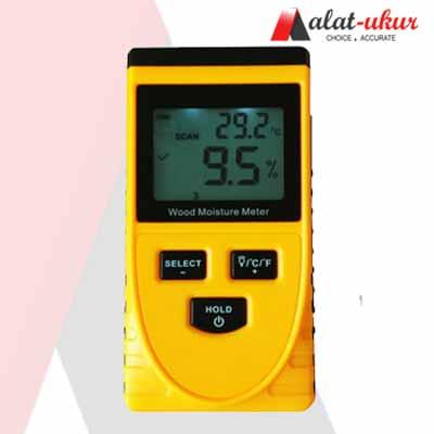 Alat Pengukur Induktif Kayu Moisture Meter AMF041