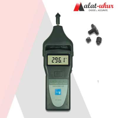 Alat Ukur Kecepatan Putaran Foto / Kontak Tachometer DT-2858